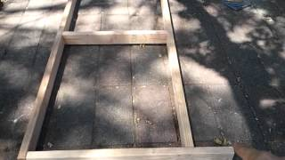 Build A Rabbit Hutch: The Bottom Frame