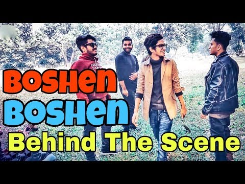 Boshen Boshen Song | The Ajaira LTD | Behind The Scenes | Prottoy Heron | Inside Ajaira