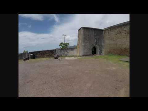 Fort Charlotte in Kingstown, St. Vincent & the Grenadines