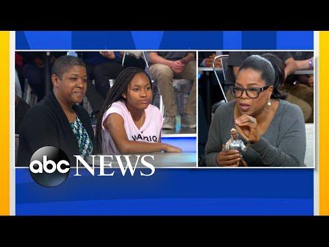 Oprah Winfrey describes the 'highest honor on Earth'