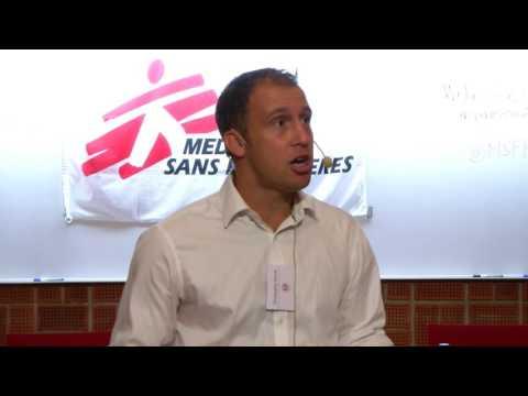 Dr Chris Hands - Valeur ajoutée des soins infirmiers pour les projets en pédiatrie de MSF