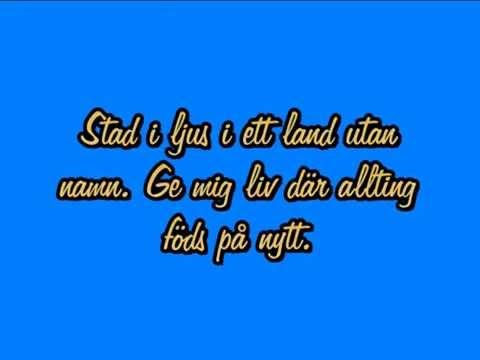 Stad i ljus - Tommy Körberg (karaoke/instrumental version)