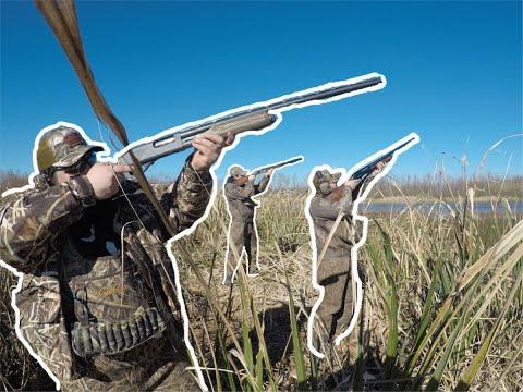 Louisiana PUBLIC LAND DUCK HUNT (WE CANT SHOOT!)