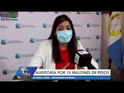 San Guillermo: Auditoría por 15 millones de pesos