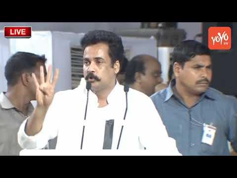 Actor Sivaji Speech @Chandrababu Naidu Dharma Porata Deeksha | AP Special Status | YOYO TV