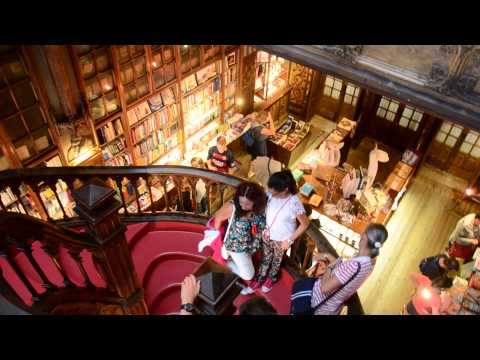 Livraria Lello & Irmao- World's Most Beautiful Bookstore in Porto, Portugal