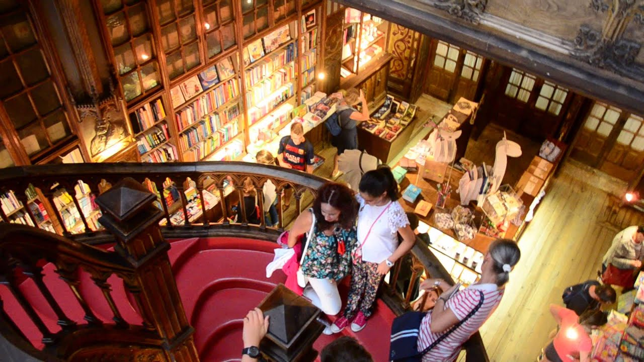 Librería Lello E Irmao Livraria Lello Irmao World S Most Beautiful Bookstore In Porto Portugal