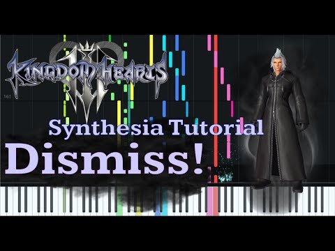 Dismiss!- Kingdom Hearts [Piano Tutorial + Sheet music] thumbnail