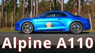 2019 Alpine A110, first drive