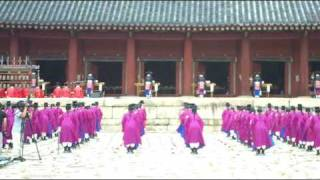 The Ceremony of Royal Tombs of the Joseon Dynasty