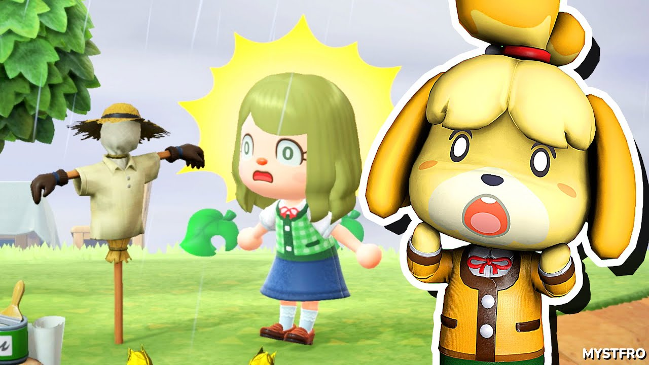 Isabelle Plays: Animal Crossing!   Scarecrow