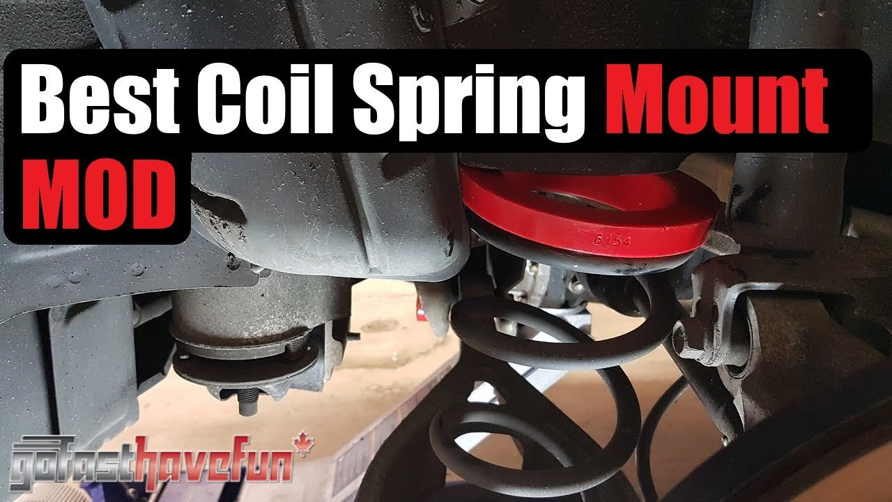 350z G35 Rear Coil Spring Mount Mod Energy Suspension
