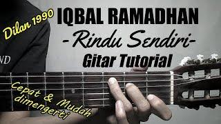 Download lagu (Gitar Tutorial) IQBAL RAMADHAN - Rindu Sendiri Ost Dilan1990 |Cepar & mudah dimengerti untuk pemula