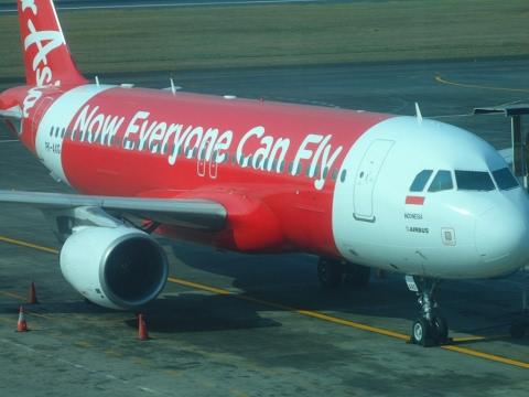 AirAsia Indonesia QZ-504 Bali to Singapore