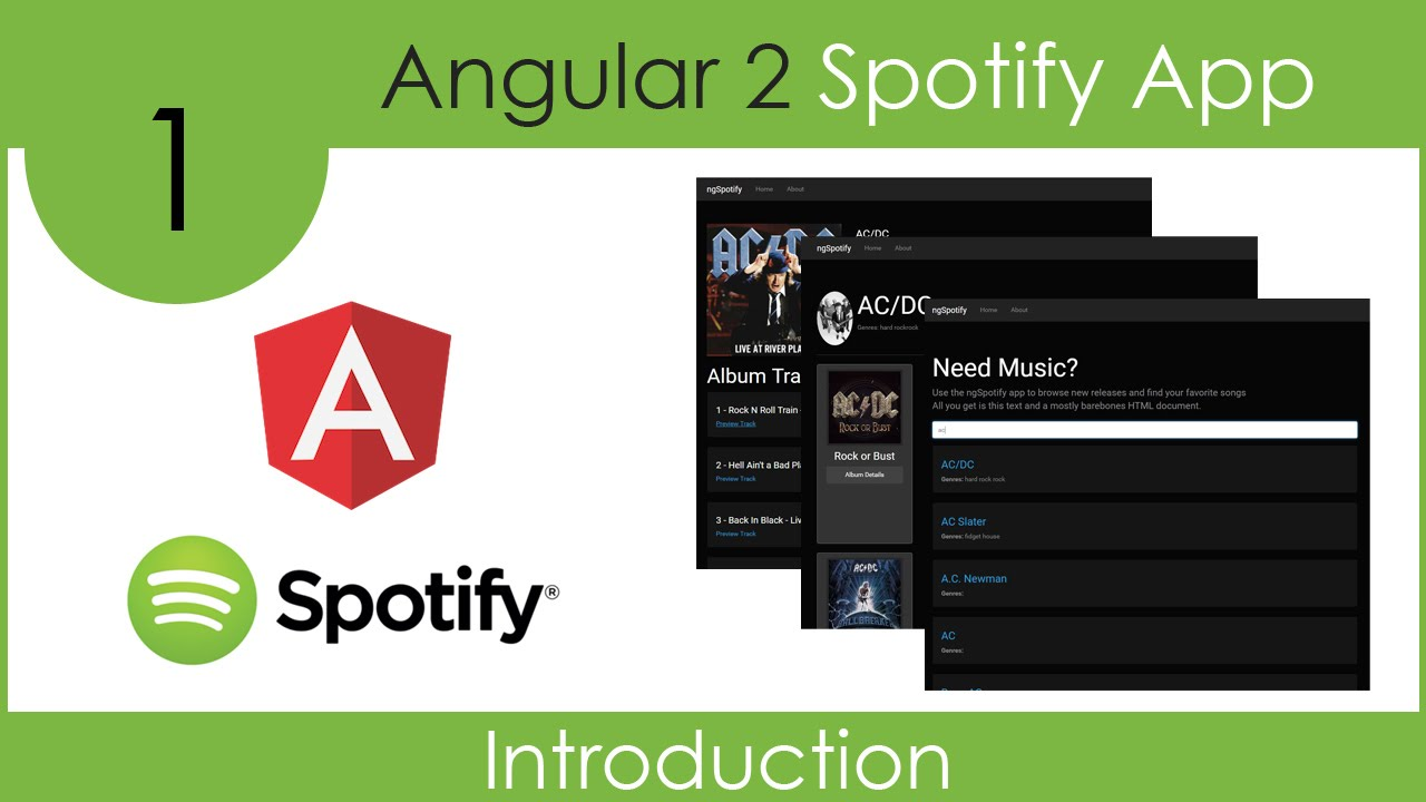 Build An Angular 2 Spotify App - Part 1