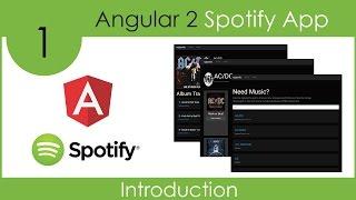 Angular 2 Spotify App
