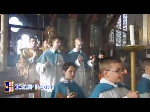 Feast of Christ the King - ICKSP in Preston, UK