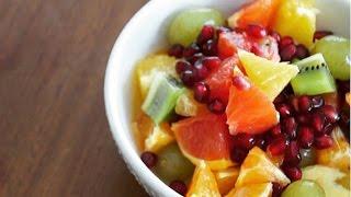 Camille Cuisine | Recette de salade de fruits d'hiver