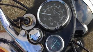 ロイヤルエンフィールド:ブリット350 エンジン始動確認動画