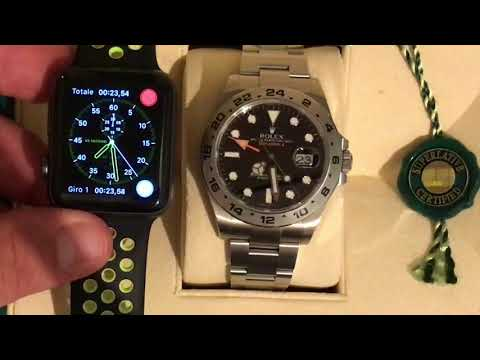 APPLE WATCH VS EPIC ROLEX ONE MINUTE PRECISION TEST - NO DIFFERENCE!!