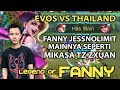 Evos Vs Thailand Jess No Limit Pake Fanny Mainnya Seperti Mikasa Tz Zxuan Mobile Legends