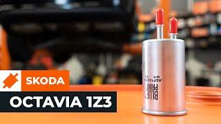 Cum se inlocuiesc filtru de combustibil pe SKODA OCTAVIA 2 (1Z3) TUTORIAL | AUTODOC