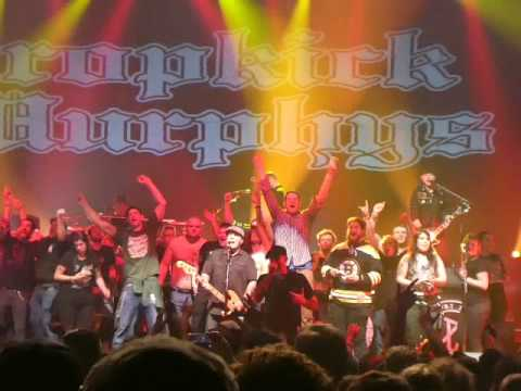 DROPKICK MURPHYS   Until the Next Time   21 1 2017 München Zenith