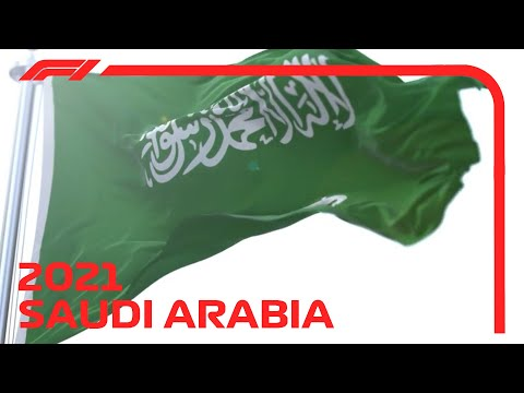 F1 2021 SAUDI ARABIA Race intro + starting grid