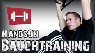 Beinheben hängend für die Bauchmuskeln lernen - HandsOn - AustriaSports