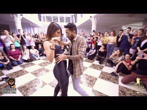 Cornel & Rithika | Bachata Sensual | Natan — Довела | Bachata Remix By DJ Ramon