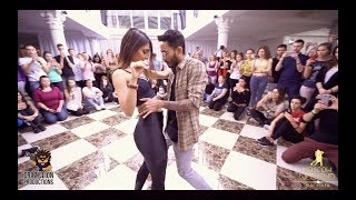 Cornel & Rithika | Bachata Sensual | Natan — Довела | Bachata Remix by DJ Ramon