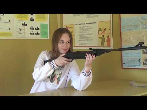 Соревнование по стрельбе из пневматической винтовки. Клуб Стрелок. 611 группа ЛАТ. Лабинск. Кубань.