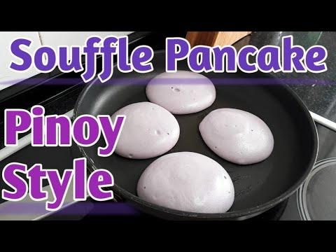 Japanese Souffle Pancake Filipino Style[Super Easy]