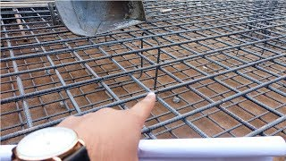 How we provide chair reinforcement in raft foundation