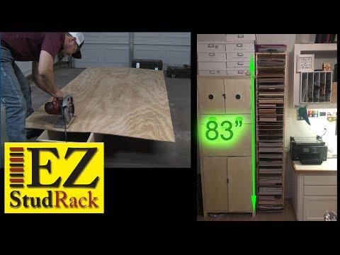 DIY HUGE Paper Storage- Craft Organization