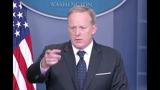 Spicer Asked About His Future, Lack Of On Camera Briefings