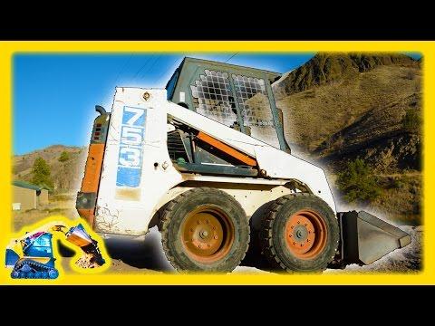 Fun Machine Video for Kids   Skid Steer