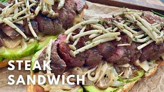 아보카도 스테이크 샌드위치 | Steak Sandwic…