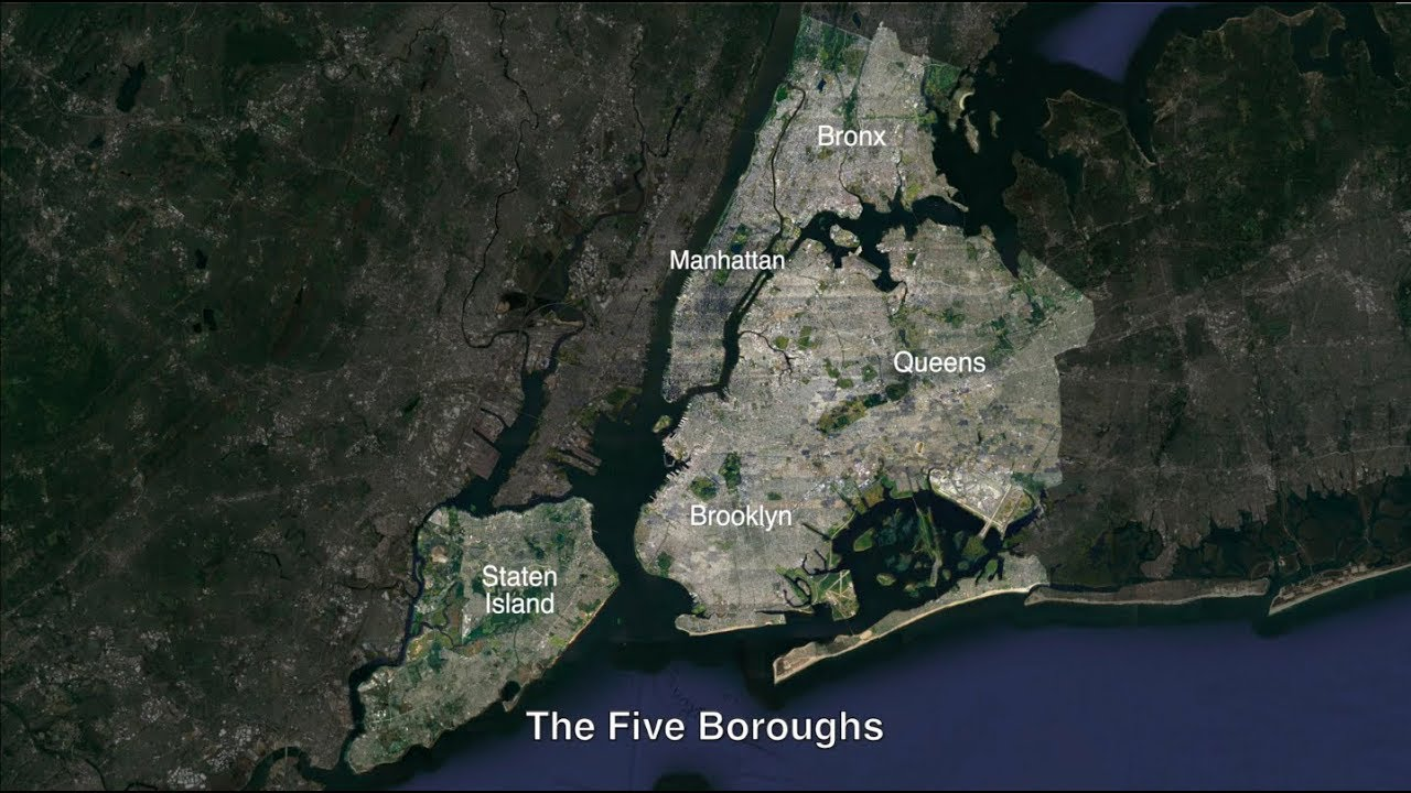 The New York City Evolution Animation Youtube