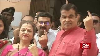 Political leaders cast vote | Phase 1 Lok Sabha Polls 2019