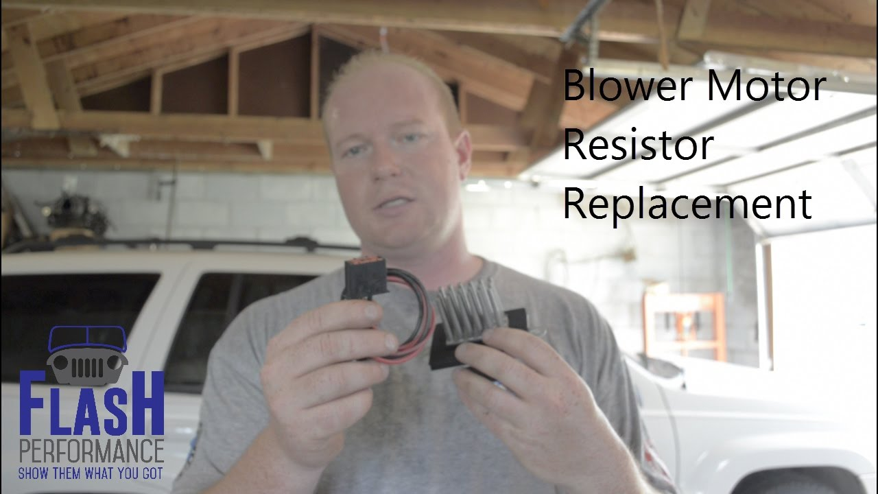 hight resolution of blower motor resistor replacement grand cherokee