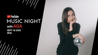 YouTube Music Night with AGA