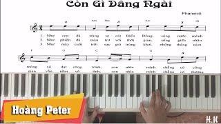 Hướng dẫn đệm Piano: Có Gì Dâng Ngài - Hoàng Peter