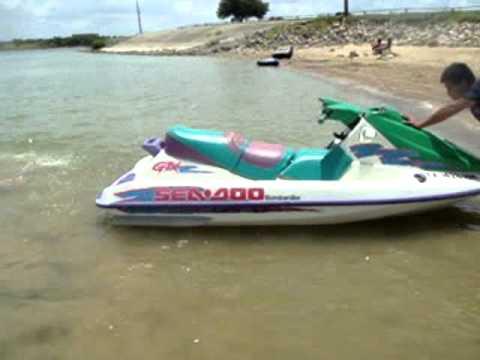 Jet Ski Sea Doo 1995 Sea Doo 4 Wmv Youtube
