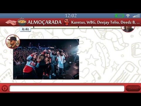 Karetus x Wet Bed Gang ft. Deejay Telio & Deedz B - Almoçarada (Tout Le Jour) [Lyric Video]
