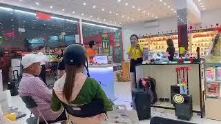 Hát test loa Karaoke tại Fpt Shop Cà Mau