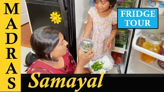 Fridge Tour In Tamil | Fridge Organization Tips in Tamil