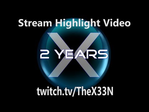 Twitch 2 Year Anniversary Highlight Video [Strong Language]
