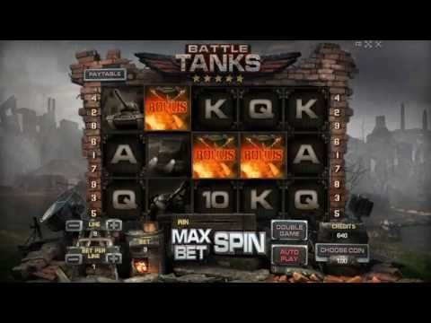 BATTLE TANKS +BONUS GAME! +BIG WIN! Online Free Slot SLOTSCOCKTAIL Hhs