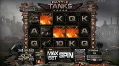 BATTLE TANKS +BONUS GAME! +BIG WIN! online free slot SLOTSCOCKTAIL hhs